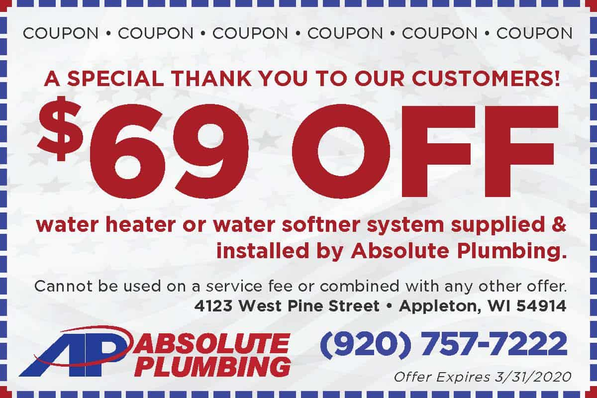 Absolute-Water-Heater 69-Coupon